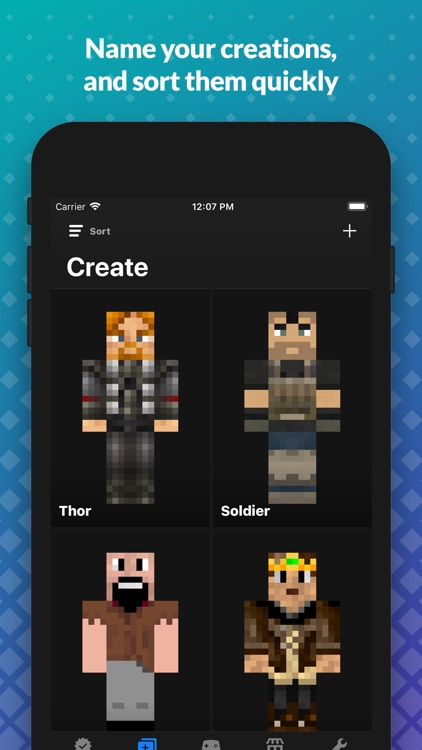 Skin Creator for Minecraft PE screenshot-4