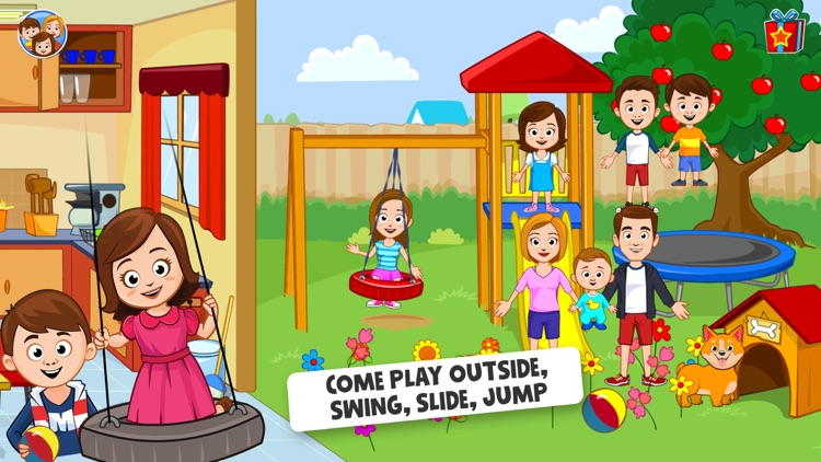 My Town : Play Doll Home Game screenshot-3