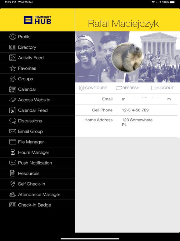 Ipad Screen Shot HRC Community 3