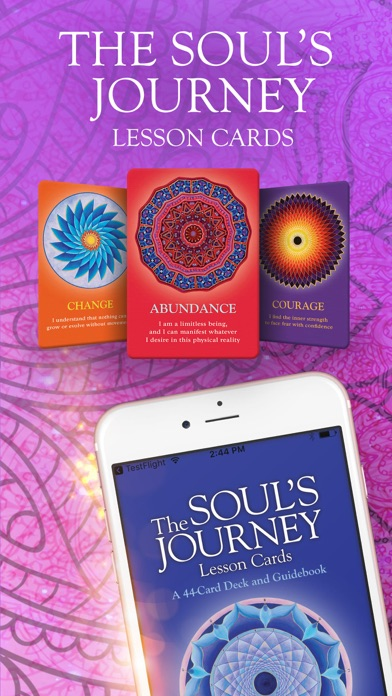 The Soul's Journey Lesson Card screenshot 1