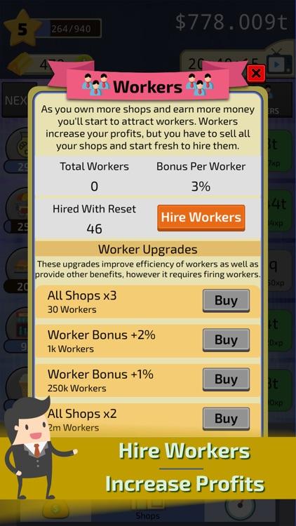 Clicker Business Tycoon screenshot-5