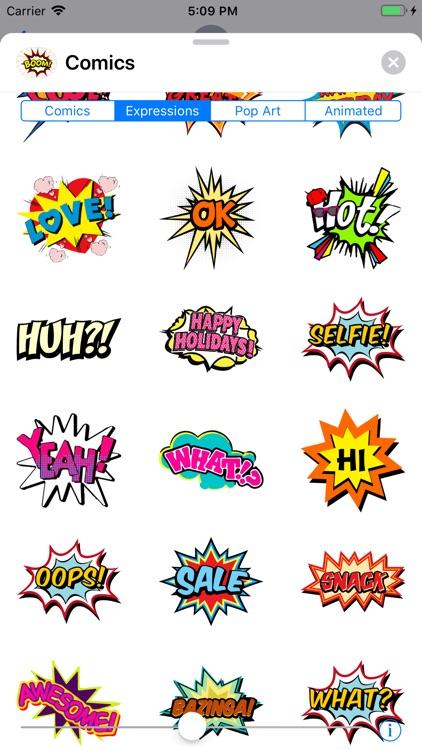 Comics Pop Art Sticker Effects screenshot-6