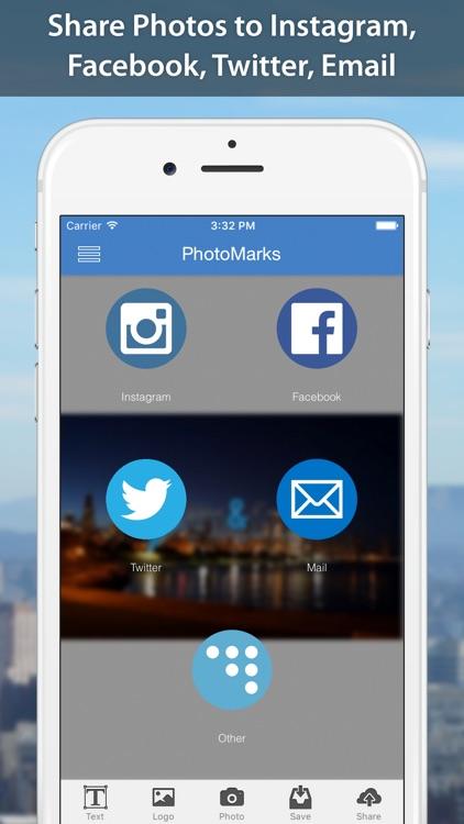 PhotoMarks - Watermark Photos screenshot-4