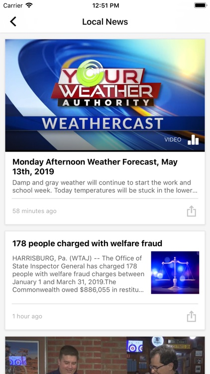 WTAJ News WeAreCentralPA.com screenshot-1