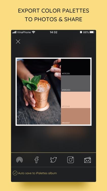 iPalettes - Color palettes screenshot-5