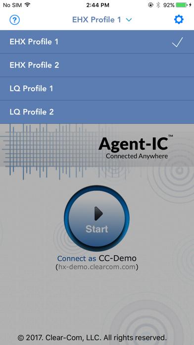Clear-Com Agent-IC screenshot one