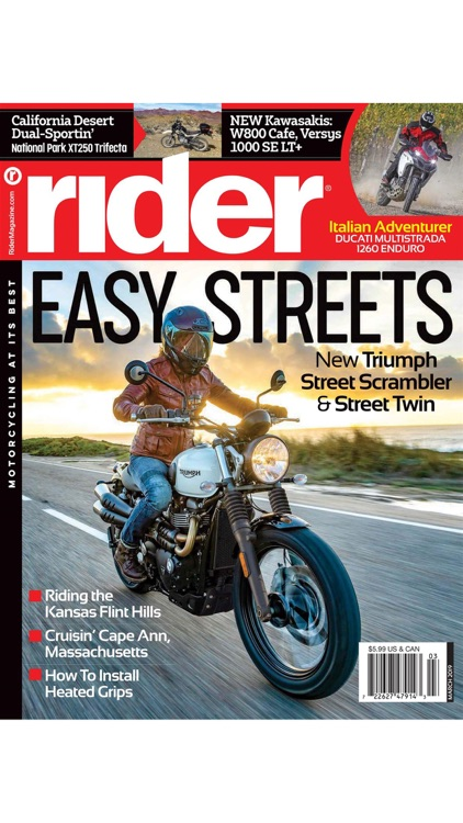 Rider Magazine. screenshot-6