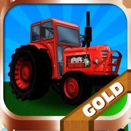 Tractor Farm Driver - Gold