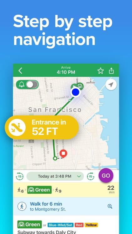 SF Bay Area Transit screenshot-3