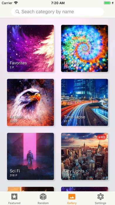 X Wallpaper - 4K for You screenshot three