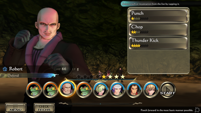 Screenshot from SaGa SCARLET GRACE : AMBITIONS