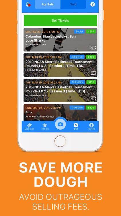 TicketFire · Buy, Sell Tickets screenshot-3