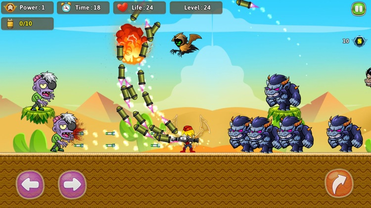Bros's Adventure : Shooter screenshot-3