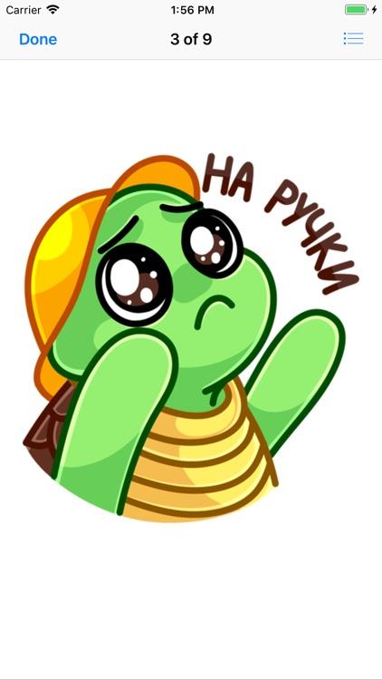 Cute Mozzi Shell for iMessages screenshot-3