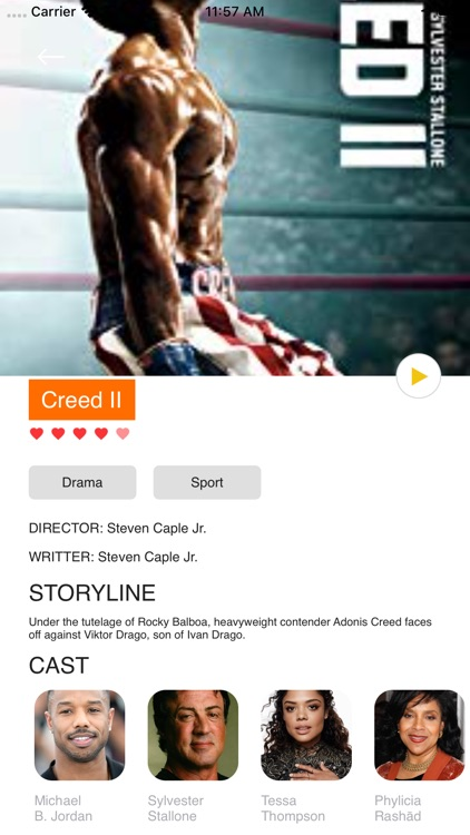 Movie Box & TV Show Showtime screenshot-3