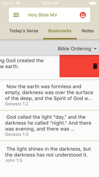 Holy Bible NIV screenshot-8