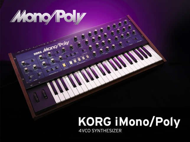 ‎KORG iMono/Poly Screenshot