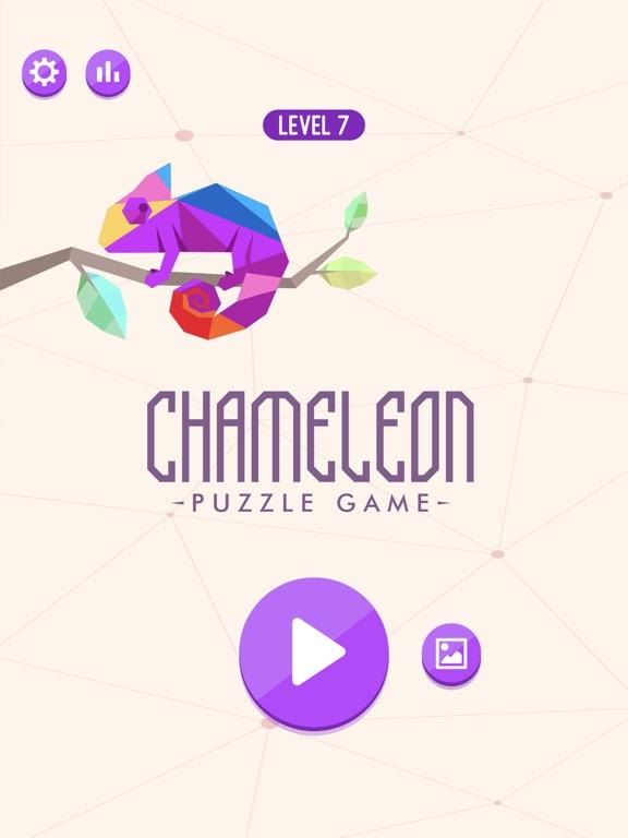 Chameleon Puzzle Game screenshot 8