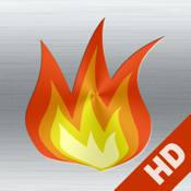 Fireplace live HD free: Relaxing romantic fires & Soothing white noise sounds to fall asleep icon