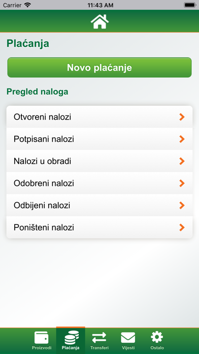 Sberbank Mobile Banking screenshot three