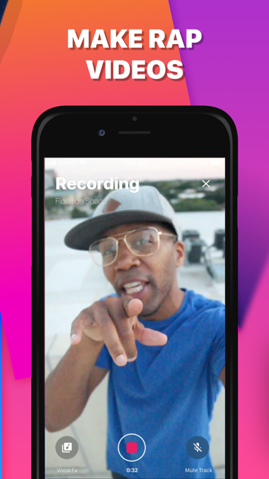 Go Rap - Vocal Effects & Music Screenshot