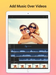 Add Music to Video Voice Over ipad images