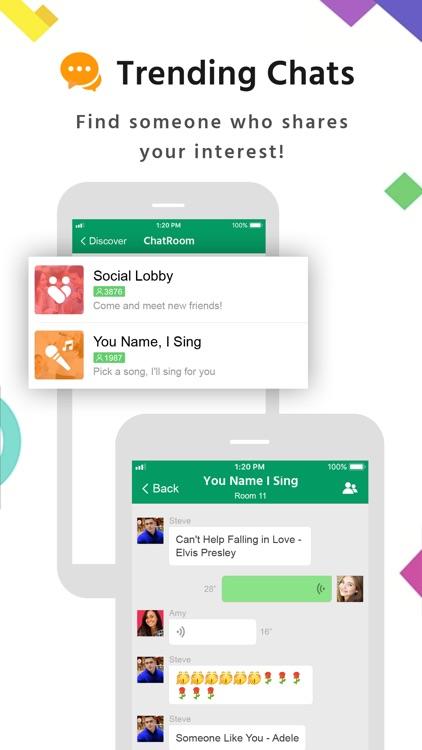 MiChat -Chat & Meet New People screenshot-5