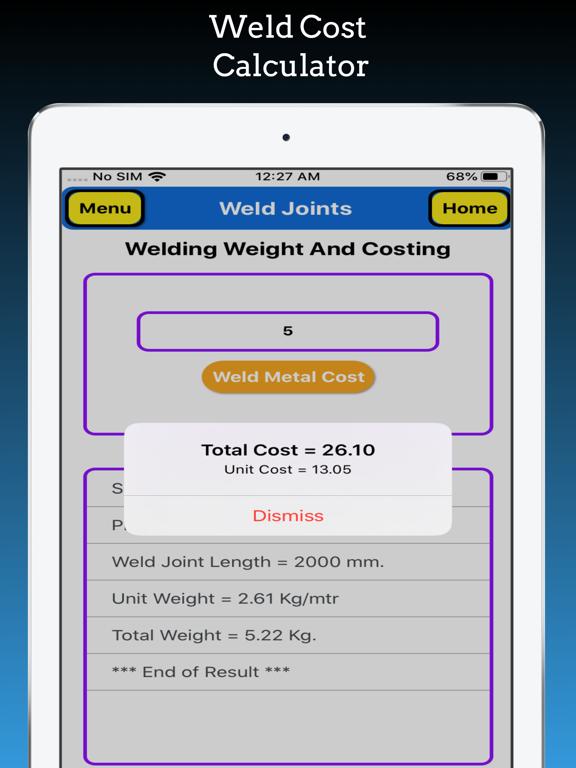 Welding Weight Calculator screenshot 19