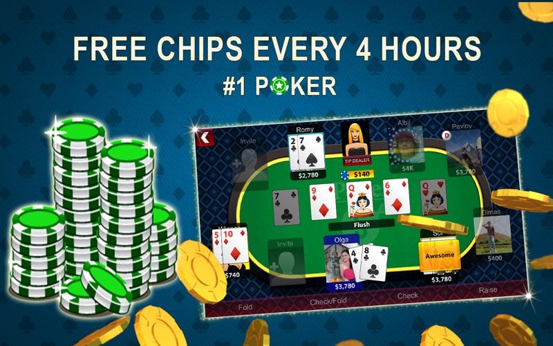 Texas Holdem Poker Online Screenshot