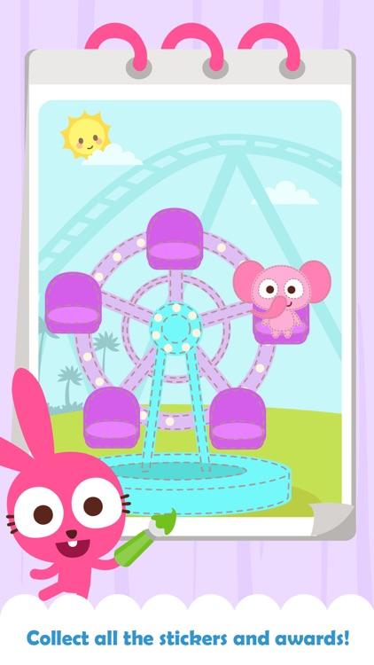 Purple Pink Happy Coloring screenshot-4