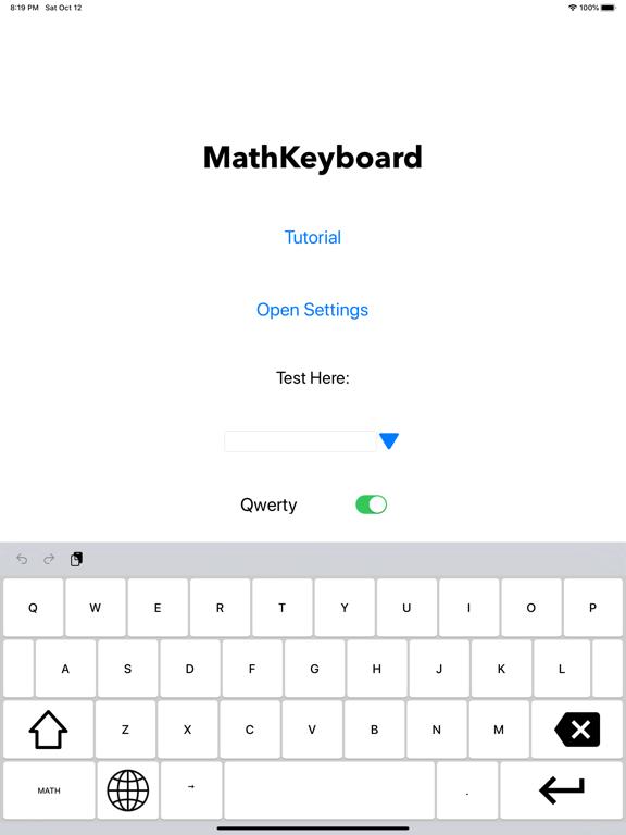 Screenshot #5 pour Math Keyboard