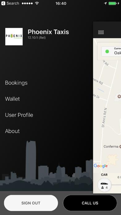 Phoenix Taxis screenshot four