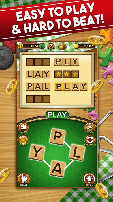 Word Collect: Word Games free Coins hack