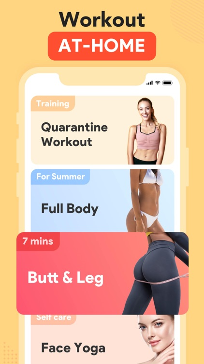 Workout for Women: Fit at Home screenshot-0