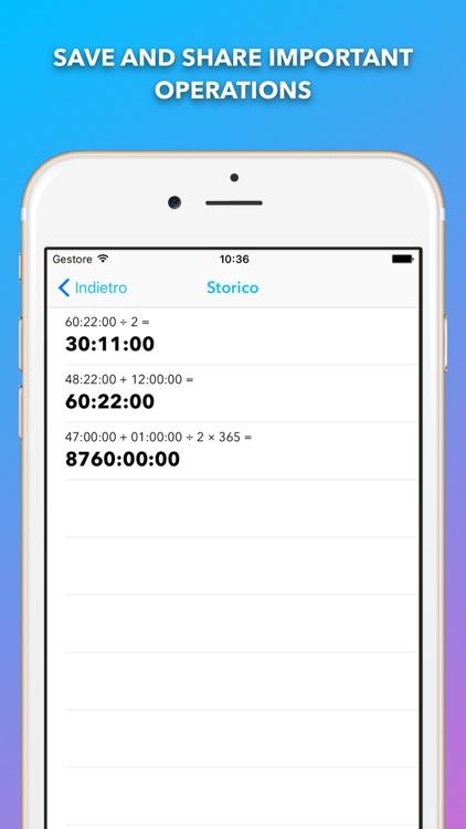 Time Calc Pro - Calculator screenshot-4