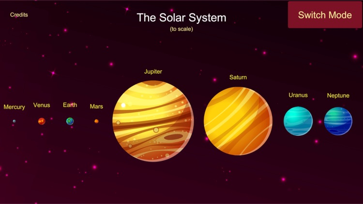 Our Solar System 2D