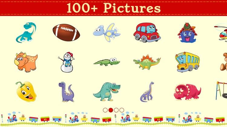 Dino Dot Connect dots for kids screenshot-4