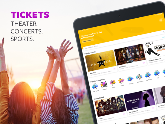 Goldstar: Half-Price Tickets to Concerts, Theater, Sports and More screenshot