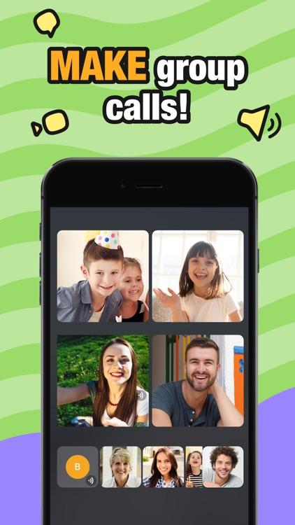 JusTalk Kids - Safe Video Chat screenshot-3