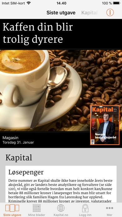 Kapital screenshot one