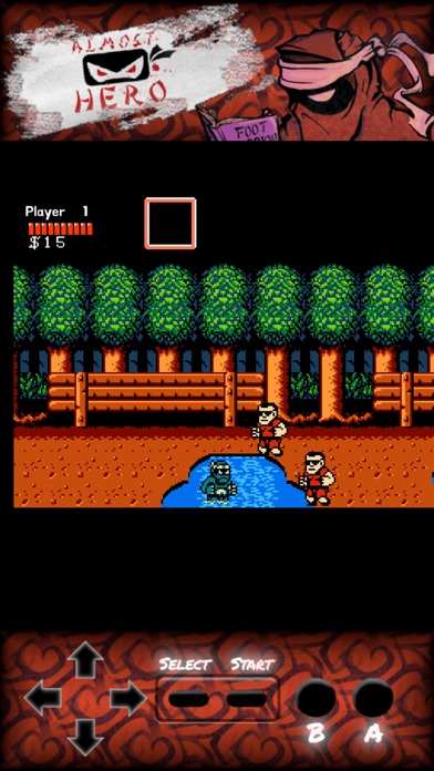 Almost Hero: Retro Hero screenshot 5