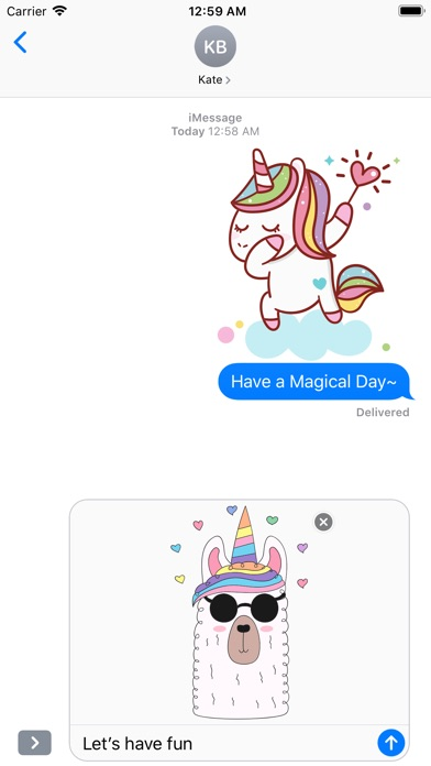 Cute Rainbow Unicorn & Friends screenshot 5