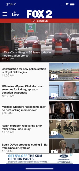 FOX 2 Detroit on the App Store