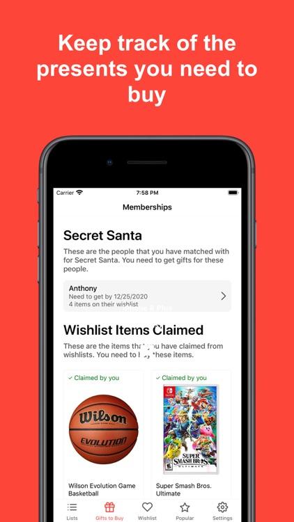 Simple Secret Santa Generator screenshot-5