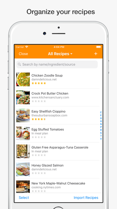 MealBoard Screenshot