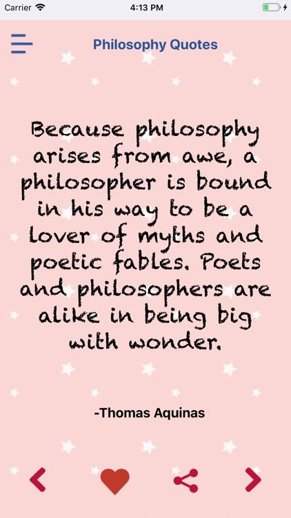 Famous Philoshophy Quotes