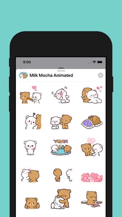Screenshot #3 pour Milk and Mocha Animated
