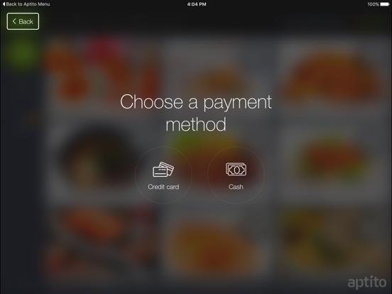 Aptito Menu Digital Network screenshot