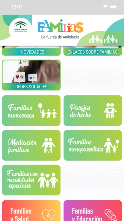 Familias, fuerza de Andalucía