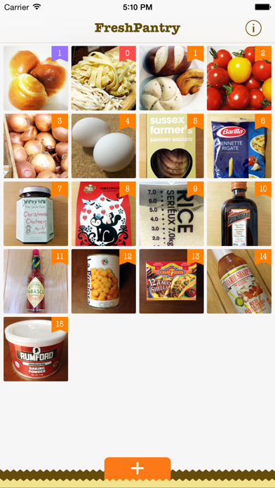 Fresh Pantry - Shelf Life screenshot one